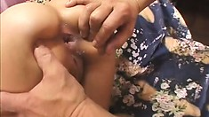 Exotic beauty with a huge ass gets stuffed during a wild POV bang