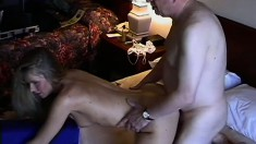 Hot Blond Amateur Takes Intense Fucking
