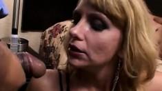 Dirty Rotten MILF's Ass Slammed Hard