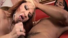 Brittany Blaze loves the feeling of D. Snoop's python inside