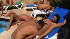 Blonde Amateur Couple Enjoys Oral Sex On A Public Nude Beach
