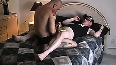 Cock-hungry guy enjoys licking his hung friend's pink bunghole