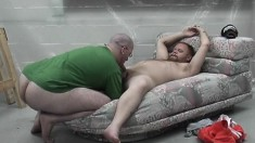 Pooch Mcgee And Dick Smith head outdoors for some rough anal pounding