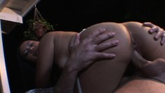 Brunette Ashley Marie is a nice little minx who takes all he can give
