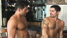 Pizza Delivery Guy Has A Muscled Latino Stud Pounding His Hungry Ass