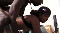 Bodacious girl gets picked up on the street and banged by a black guy