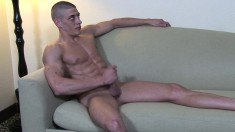 Hot stud Jerry Price gets naked and lets his imagination take control