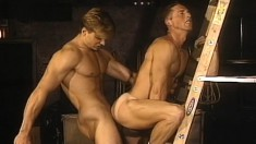 Dean Johnson Moans While Fucking Insatiable Hunk Alec Powers