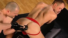 Attractive Gay Hunk Fists The Hell Out Of His Boyfriend's Sublime Ass