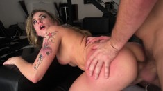 Charming Blonde With Nice Tits Gets The Intense Anal Fucking She Wants