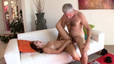 Attractive Young Nympho Seduces Her Stepfather To Fulfill Her Desires