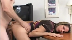 Blowjob And Anal Creampie