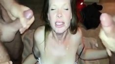 Public Blowjob From An Amateur Brunette Babe In Pov Video