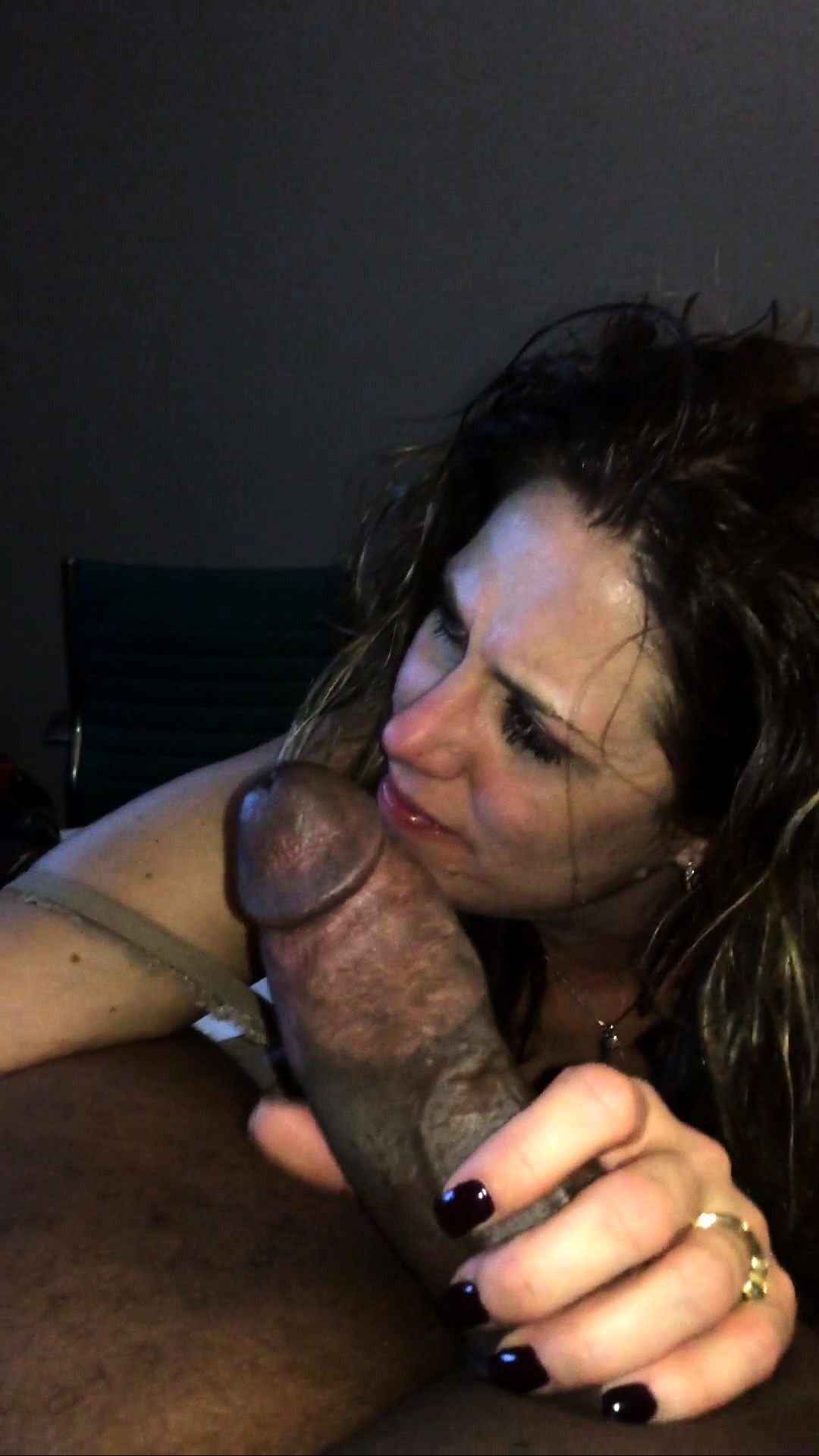Are Interracial blow job video