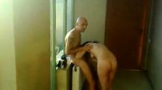 Russian orgy in a public bathhouse