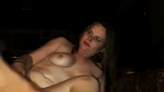 Outdoor Anal masturbation