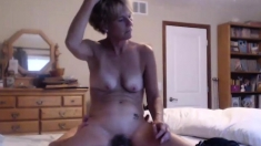 Mature amateur housewife hardcore with facial cumshot