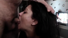 Italian blowjob and sexy european pussies in porn movie