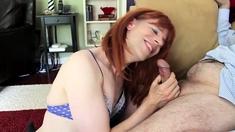 Enjoying A Nice Cock