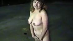 My Girl Exposing Outdoor