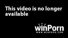 Japanese slut in lingerie gives double blowjob